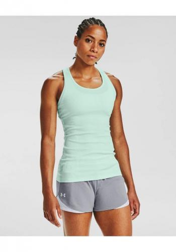 UNDER ARMOUR: VICTORY TANK LINNE - SEAGLASS BLÅ