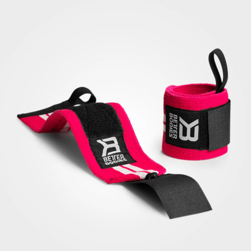 BETTER BODIES: WOMENS WRIST WRAPS - ROSA / VIT