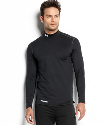 UNDER ARMOUR: COLDGEAR MOCK- SVART