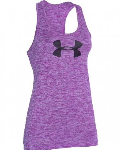 UNDER ARMOUR: BRANDED TECH LINNE - LILA