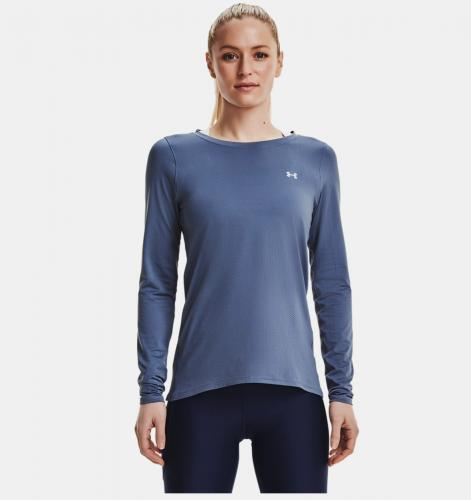 UNDER ARMOUR: HEATGEAR ARMOUR LÅNGÄRMAD - BLÅ