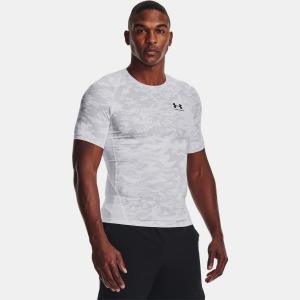 UNDER ARMOUR: HG ARMOUR CAMO COMP SHORT SLEEVE - VIT