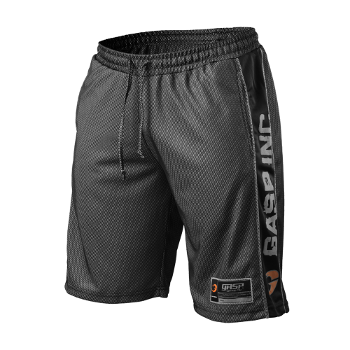 GASP: NO1 MESH SHORTS - SVART