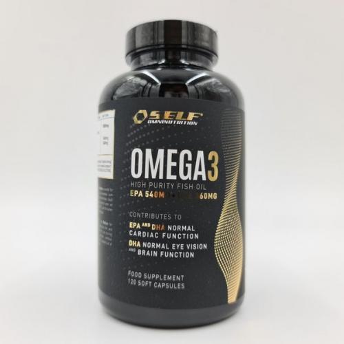 SELF: OMEGA-3 - 120 KAPSLAR