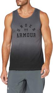 UNDER ARMOUR: COLLEGIATE TANK TOP - GRÅ