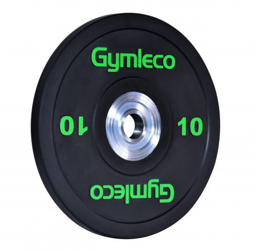 GYMLECO: BUMPERS VIKTSKIVA SVART - 1st