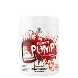 SWEDISH SUPPLEMENTS: BLOODY PUMP PEACH MANGO - 500 G