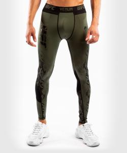 VENUM: UFC AUTHENTIC FIGHT WEEK MEN'S PERFORMANCE TIGHTS - KHAKI