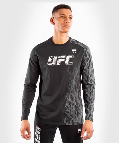 VENUM: UFC AUTHENTIC FIGHT WEEK MEN'S LÅNGÄRMAD T-SHIRT - SVART