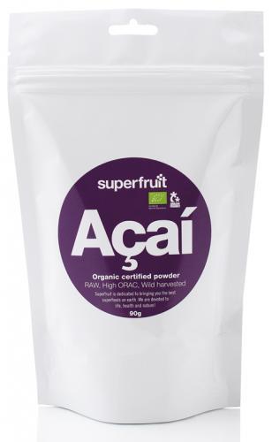 SUPERFRUIT: Açaí PULVER EKOLOGISKT - 90g