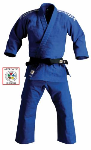 Adidas Judo Plain T Shirt BlackWhite