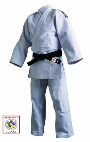 ADIDAS: IJF CHAMPION 2 SLIM FIT JUDO GI - VIT