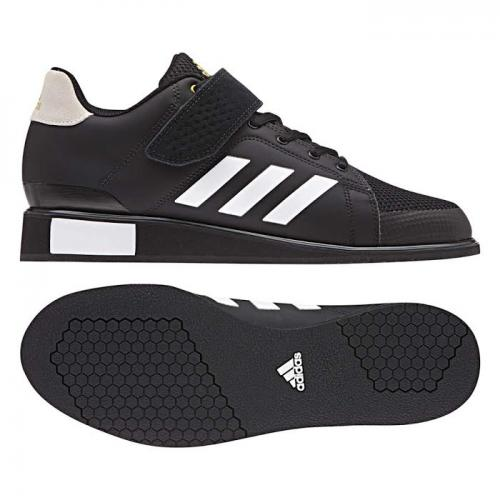 ADIDAS: POWER PERFECT III TYNGDLYFTNINGSSKOR - SVART