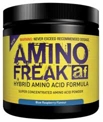 PHARMA FREAK: AMINO FREAK 225 gr  - BLUE RASBERRY