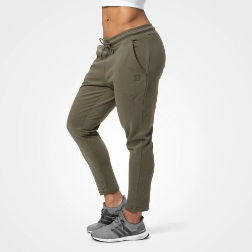 BETTER BODIES: ASTORIA SWEAT PANTS - WASHED GREEN
