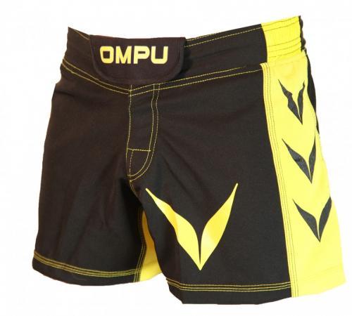 OMPU: ATTITUDE MMA SHORTS - SVART