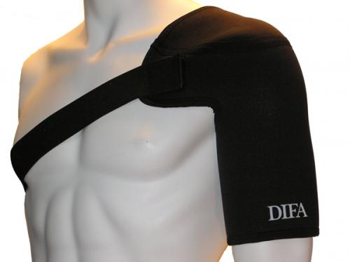 DIFA: AXELSKYDD - BLACK