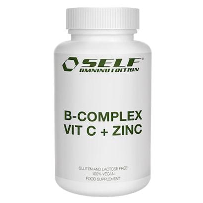 SELF: B-COMPLEX VITAMIN C + ZINC - 60 kapslar