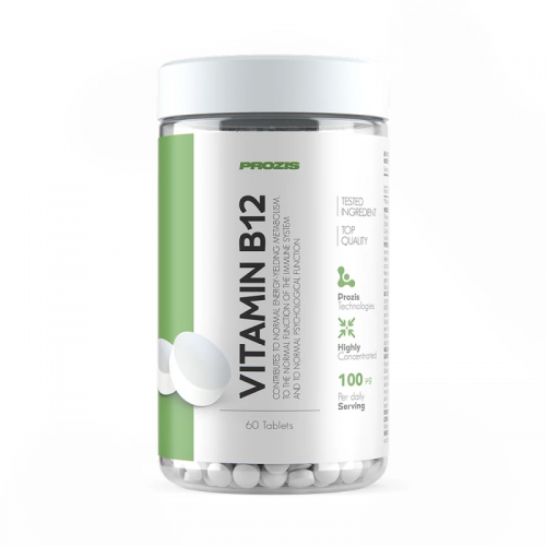 PROZIS: VITAMIN B12  100 µg - 60 tabletter