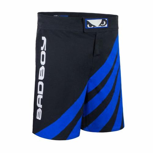 BAD BOY: TRAINING SERIES IMPACT MMA SHORTS - SVART/BLÅ