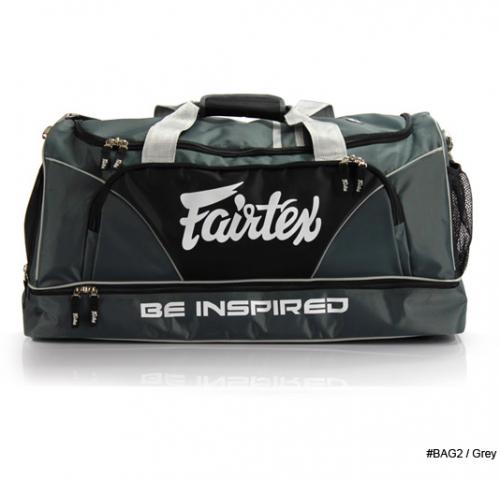 FAIRTEX: PRO GYM BAG - GRÅ