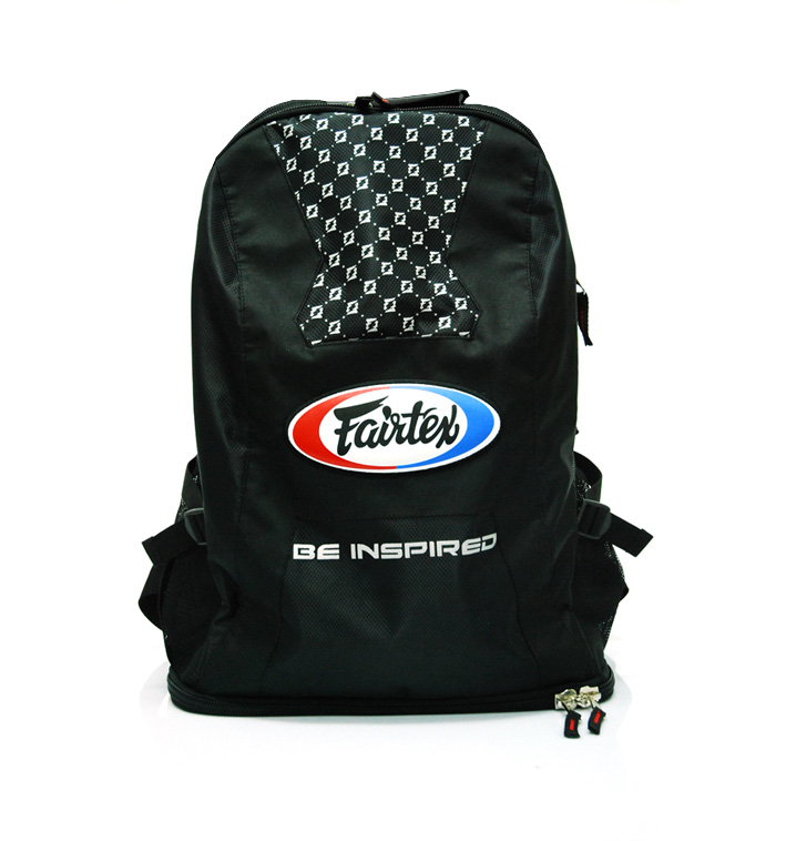 FAIRTEX: LARGE BACK PACK - SVART