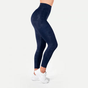 BETTER BODIES: HIGH WAIST LEGGINGS - NAVY CAMOU