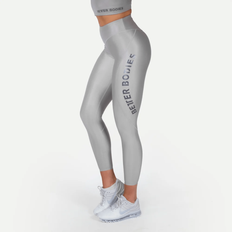 BETTER BODIES: VESEY V2 LEGGINGS - STEEL GRÅ