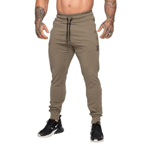 BETTER BODIES: TAPERED JOGGERS V2 BYXOR - WASHED GRÖN