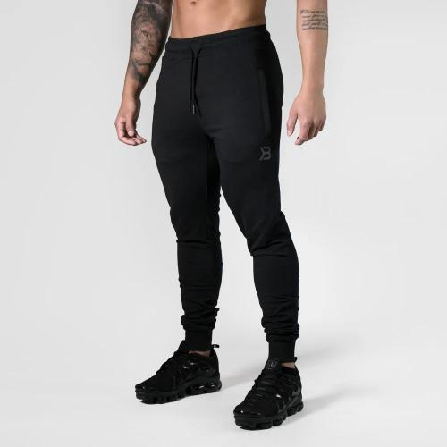 BETTER BODIES: TAPERED JOGGERS V2 BYXOR - SVART