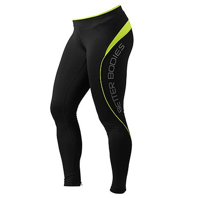 BETTER BODIES: FITNESS LONG TIGHTS - LIME