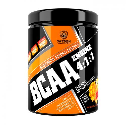 SWEDISH SUPPLEMENTS: BCAA ENGINE 4:1:1 - 400gr