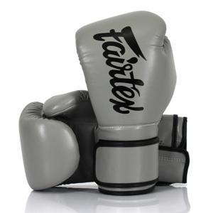 Fairtex boxningshandskar grå