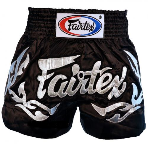 FAIRTEX: ETERNAL SILVER MUAY THAI SHORTS
