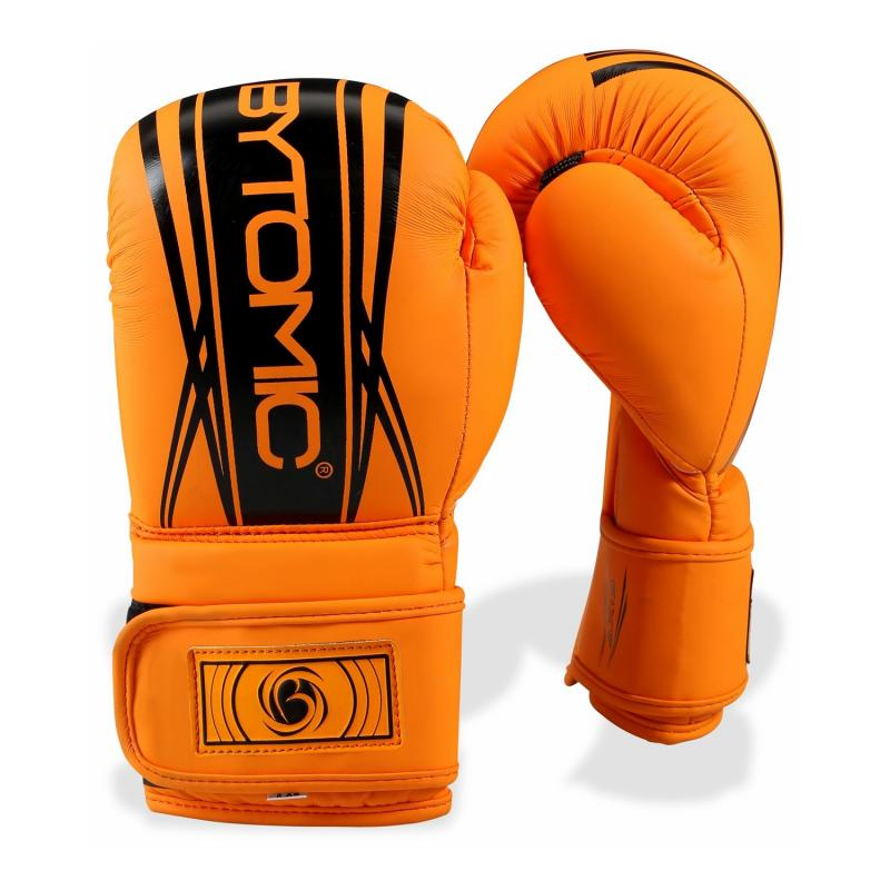 BYTOMIC: AXIS V2 KIDS BOXNINGSHANDSKAR - ORANGE/SVART