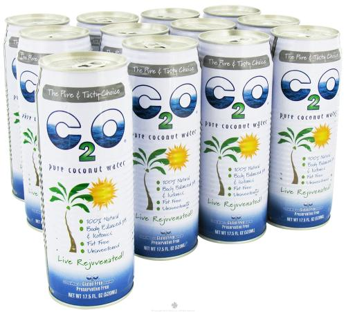 C2O: PURE COCONUT WATER - 12 PACK