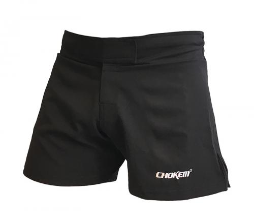 CHOKEM: HYBRID CLEAN CUT SHORTS - SVART