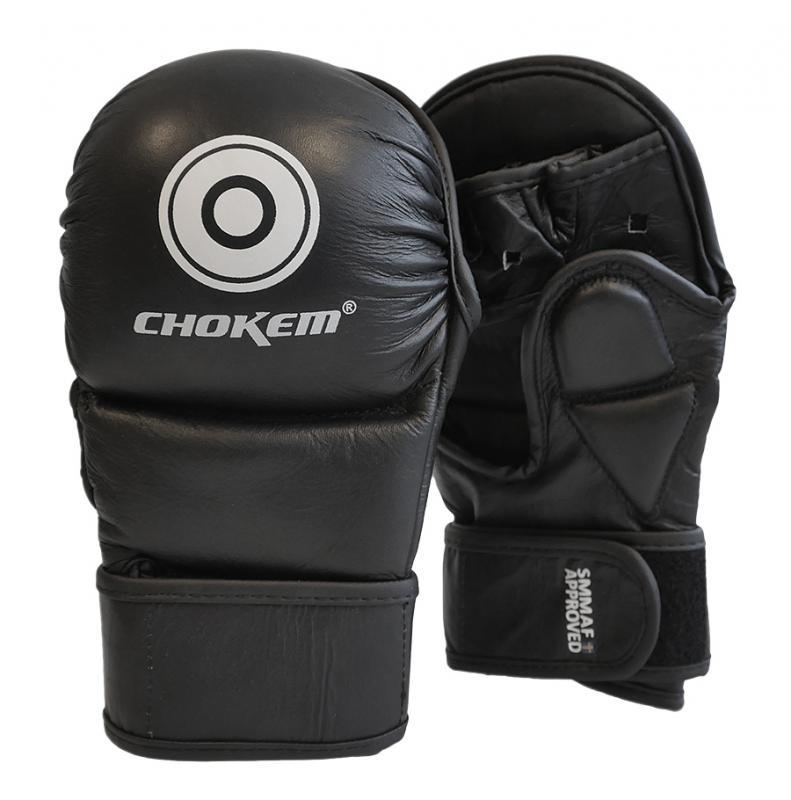 CHOKEM: MMA SAFE SPARRING HANDSKAR - SVART/VIT