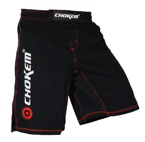 CHOKEM: MMA RIPSTOP SHORTS - SVART