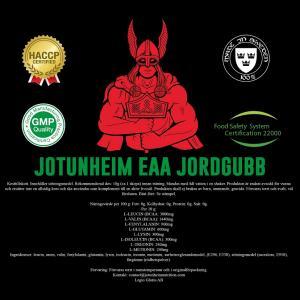 JOTUNHEIM NUTRITION: EAA JORDGUBB  - 400gr