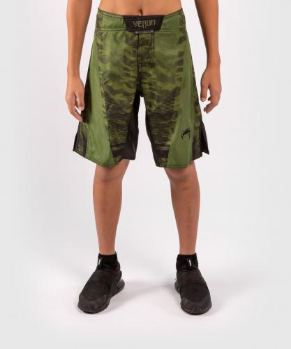 VENUM: TROOPER KIDS FIGHTSHORTS - CAMO/SVART