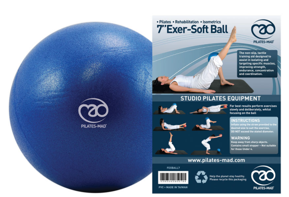 "FITNESS-MAD: 7"" EXER SOFT BOLL"