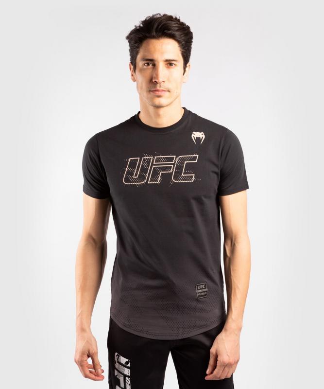 VENUM: UFC AUTHENTIC FIGHT WEEK 2 MEN'S SHORT SLEEVE T-SHIRT - SVART