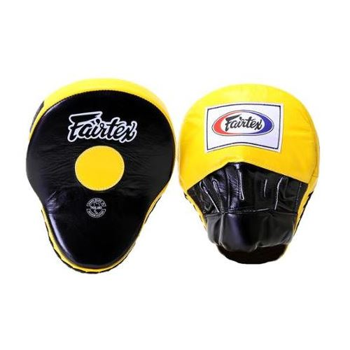 FAIRTEX: ULTIMATE FOKUS MITTS GUL/SVART - 1 PAR