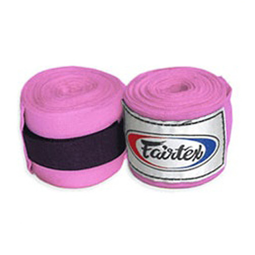 FAIRTEX: HAND WRAPS 3 METERS - ROSA
