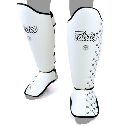 FAIRTEX: SP5 BENSKYDD - VIT