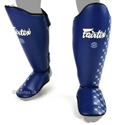 FAIRTEX: SP5 BENSKYDD - BLÅ