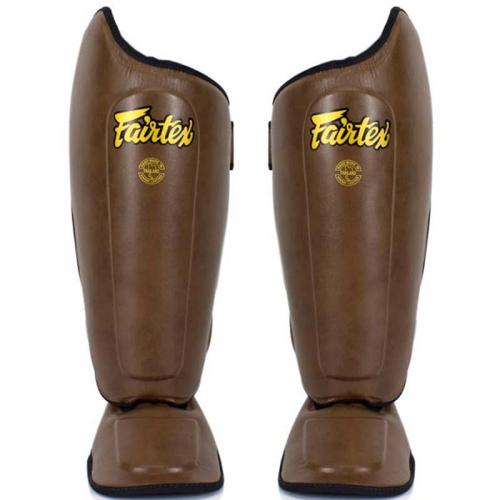 FAIRTEX: BENSKYDD SP8 - BRUN