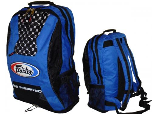 FAIRTEX: LARGE BACK PACK - BLÅ/SVART