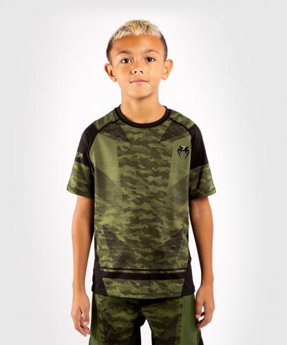 VENUM: TROOPER KIDS DRY-TECH T-SHIRT - CAMO/SVART